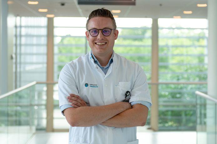 Rick Willems, kinderarts in het Catharina Ziekenhuis in Eindhoven.