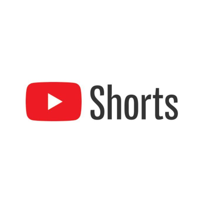 Het logo van YouTube Shorts.