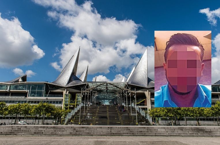Het Antwerpse justitiepaleis. Inzet: Abdelhak 'Abdel' E.A. (26).