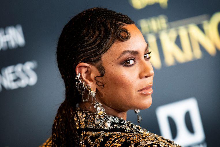 Het was met 'Lemonade', haar fel bewierookte album uit 2016, dat Beyoncé zich expliciet opwierp als een van de belangrijkste vertegenwoordigers van blackness in het hedendaagse Amerika. Beeld EPA