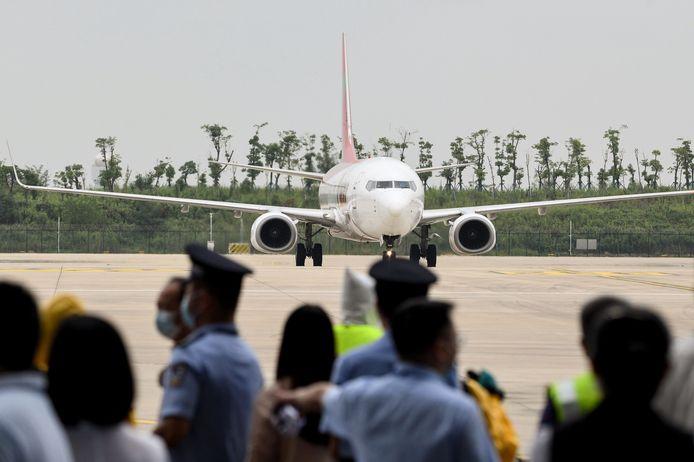 De luchthaven heropende in april al, maar ontving tot vandaag alleen binnenlandse vluchten.