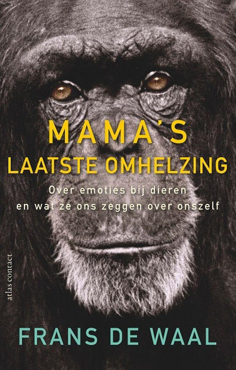 Frans de Waal: Mama's laatste omhelzing Beeld