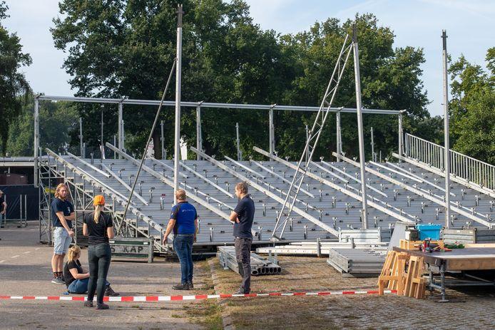 Op de tribunes is de komende weken plaats voor vele honderden