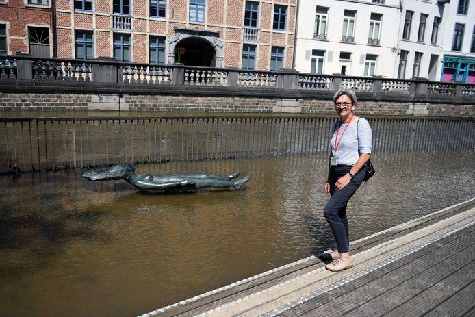 Weekendreeks. Fiere Margriet aan de Dijleterrassen in Leuven, met stadsgids Monique Bolleyn