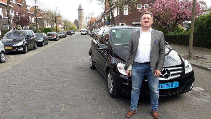 Uberchauffeur Peter Klerc.