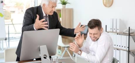 Meer dan de helft heeft weleens ruzie met de baas
