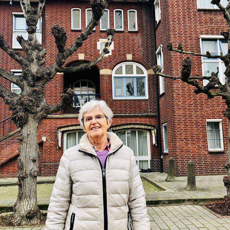 Franka Stoutjesdijk-Jansen, wethouder tot 1997. Beeld