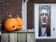Keurige buitenwijk vol spinnenwebben, doodshoofden en skeletten: het is tijd voor Halloween