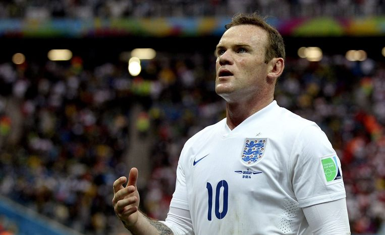 Wayne Rooney Beeld AFP