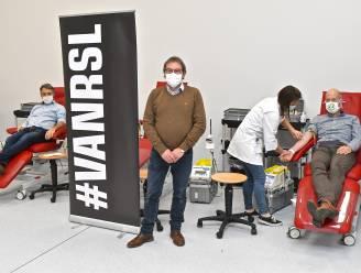 Roeselare moedigt stadspersoneel aan om ook in coronatijden bloed te doneren