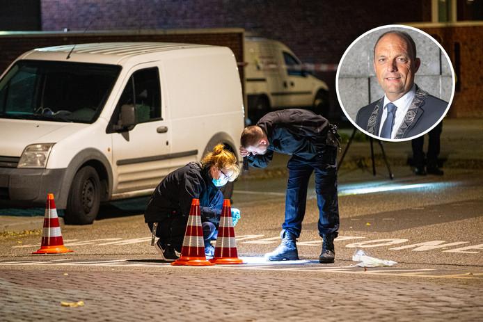 Sinds Snijders' aantreden in september zijn er al twee schietincidenten geweest in Zwolle. Eerst in Stadshagen, daarna in Holtenbroek (foto).