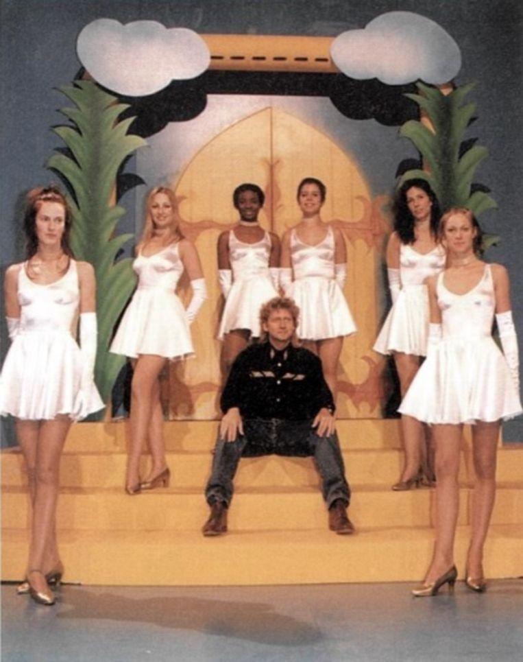 Carl Huybrechts was de grote animator van de rechtstreekse uitzending van het Gouden Schoen-gala zolang die bij de VRT zat.