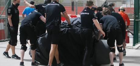 Testdagen verlopen voor Mercedes allesbehalve naar wens, Ricciardo het snelst