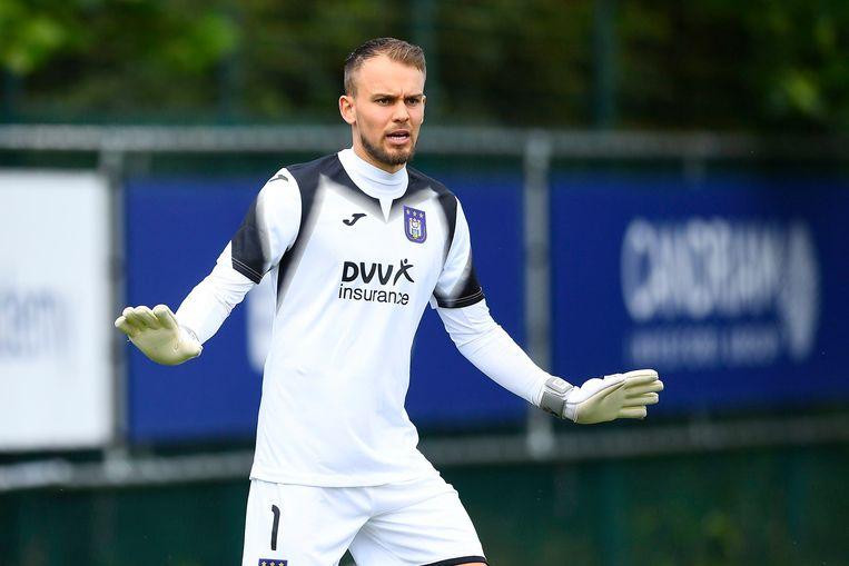 Anderlecht haalde doelman Timon Wellenreuther weg bij Willem II