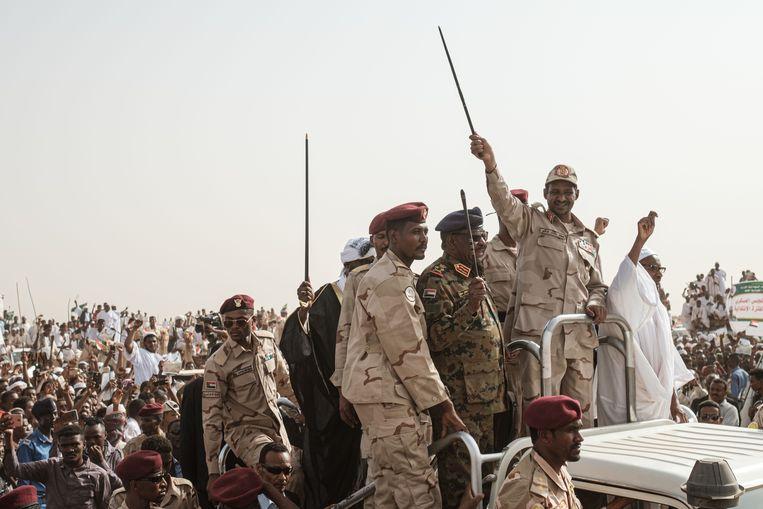 Generaal Mohamed Hamdan Dagalo, bijgenaamd Hemedti. Beeld AFP