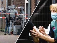 Nieuws gemist? Zestigplussers wachten mogelijk langer op prik; arrestatieteam valt Nijmeegse woning binnen