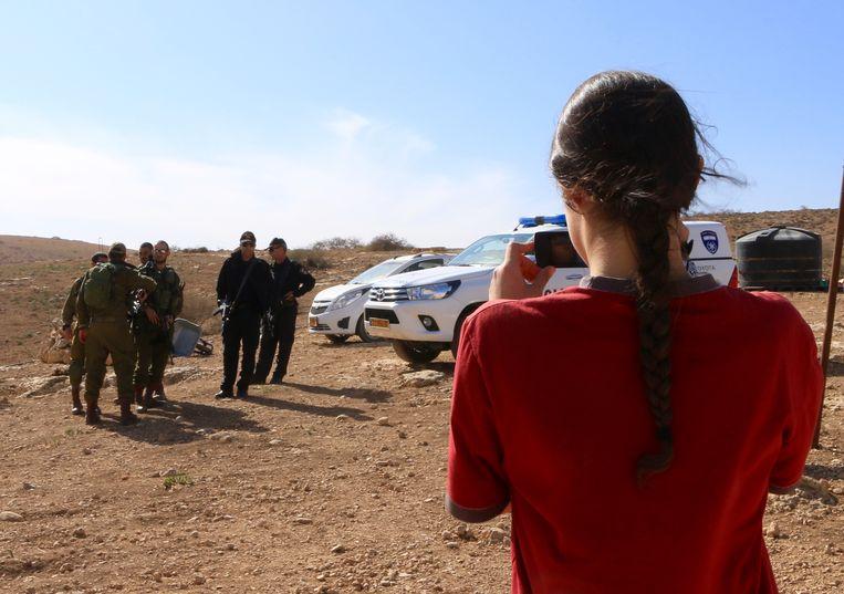 Atalya Ben-Abba weigert dienst in het Israëlische leger.  Beeld