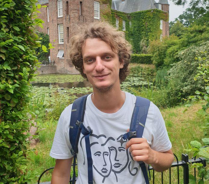 Kunstenaar Lasse van den Dikkenberg is in oktober artist in residence van Landgoed Leonardus in Helmond.