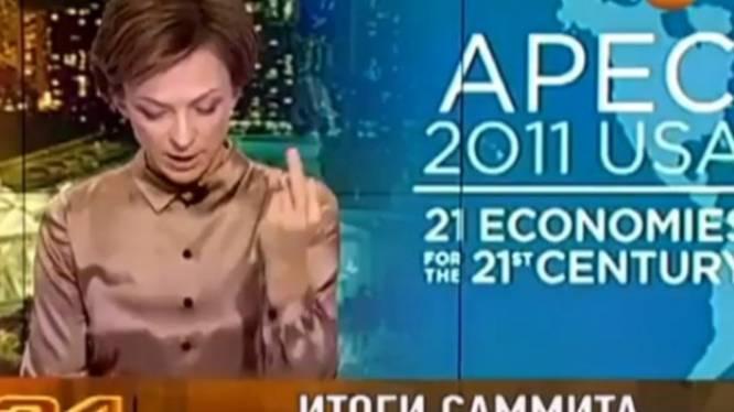 Une journaliste fait un doigt d'honneur à Obama (vidéo)