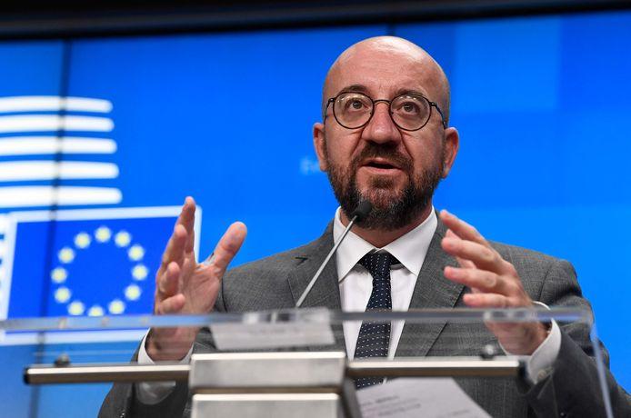 EU-Raadspresident Charles Michel.
