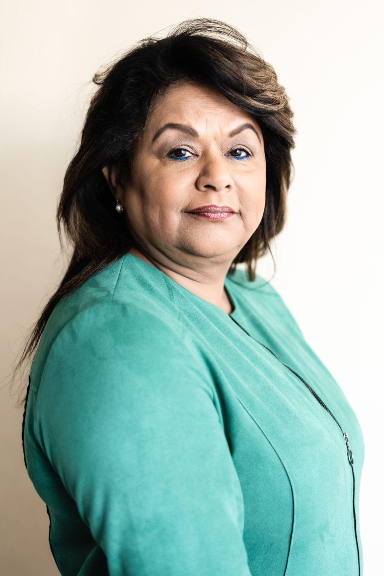 Maritza Russel. Beeld Katja Poelwijk