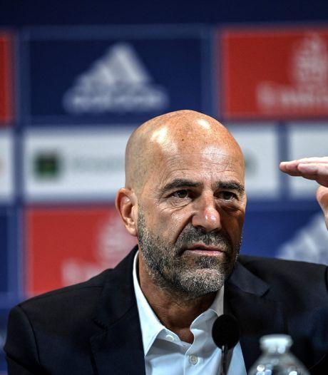 Bosz doet Lyon-fans belofte tijdens presentatie: 'We voetballen om jullie te vermaken'