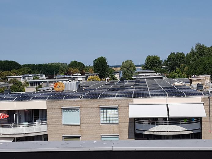 Op het dak van Buitendijk in Zeewolde zijn 480 zonnepanelen gemonteerd.