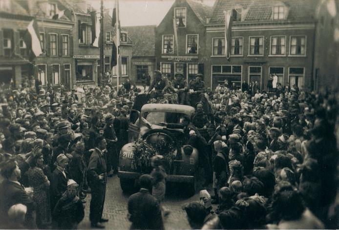 De bevrijding van Ameide in 1945,