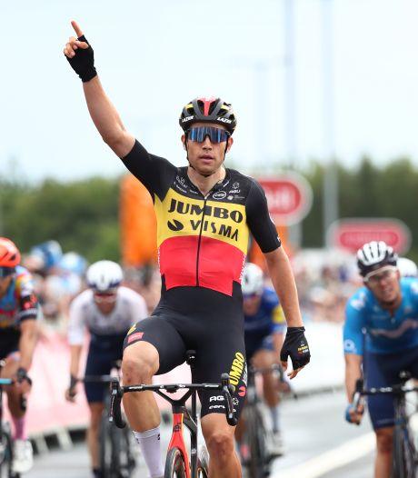 Van Aert sprint naar eindzege Ronde van Groot-Brittannië