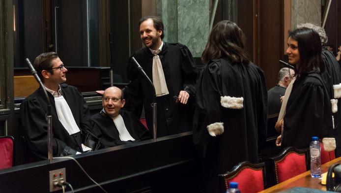 Vincent Bodson (à gauche)
