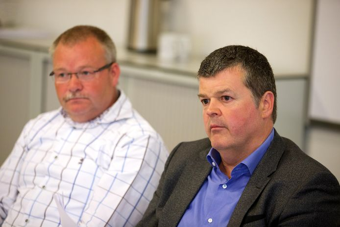 Mechels politiecommissaris Yves Bogaerts naast burgemeester Bart Somers (Open Vld).