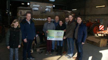 500 euro om de Tank te laten rijden