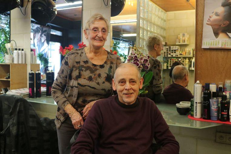 Morgen doen Francine en Jacques nog een laatste effort voor hun trouwe klanten.