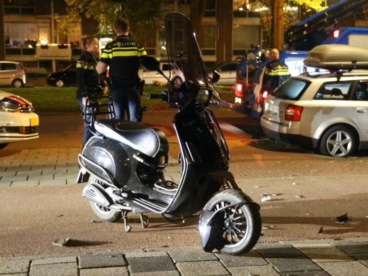 Scooterachtervolging Den Haag eindigt in crash