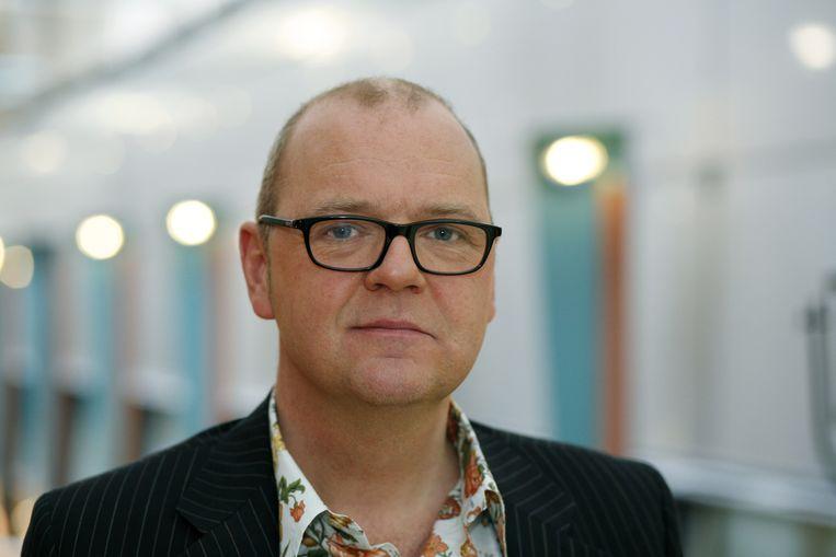 Columnist en schrijver Jan Kuitenbrouwer. Beeld null