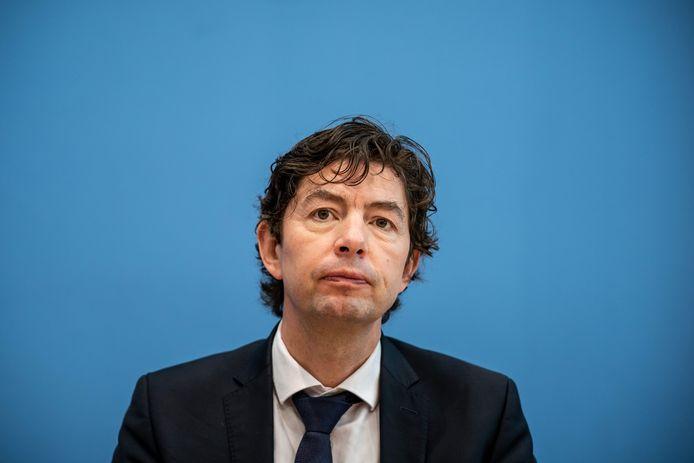 Christian Drosten, viroloog en adviseur van de Duitse bondskanselier Angela Merkel.