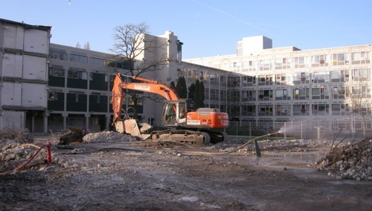 De eerste fase van de nieuwbouw zal naar verwachting in 2014 voltooid zijn. Beeld