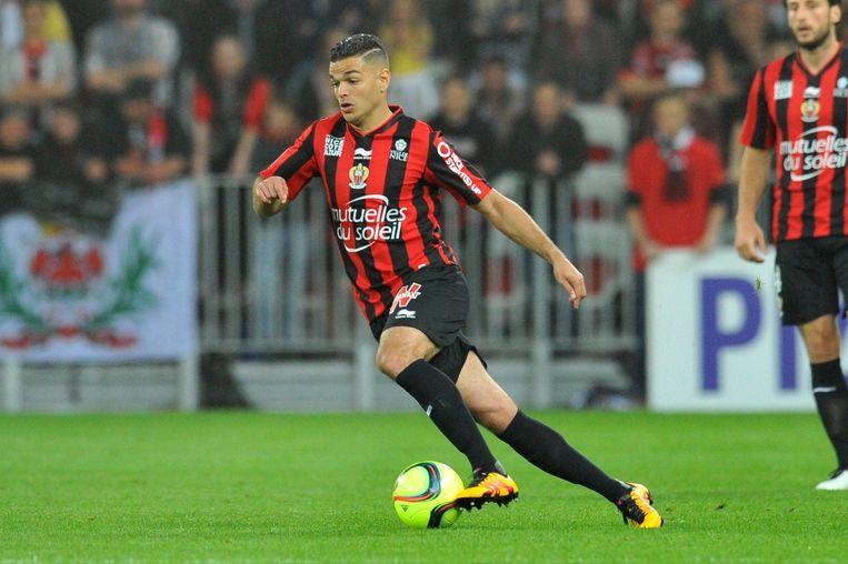 Ben Arfa speelde een topseizoen voor Nice, maar moet voorlopig vrede nemen met een plaatsje op de reservenlijst.