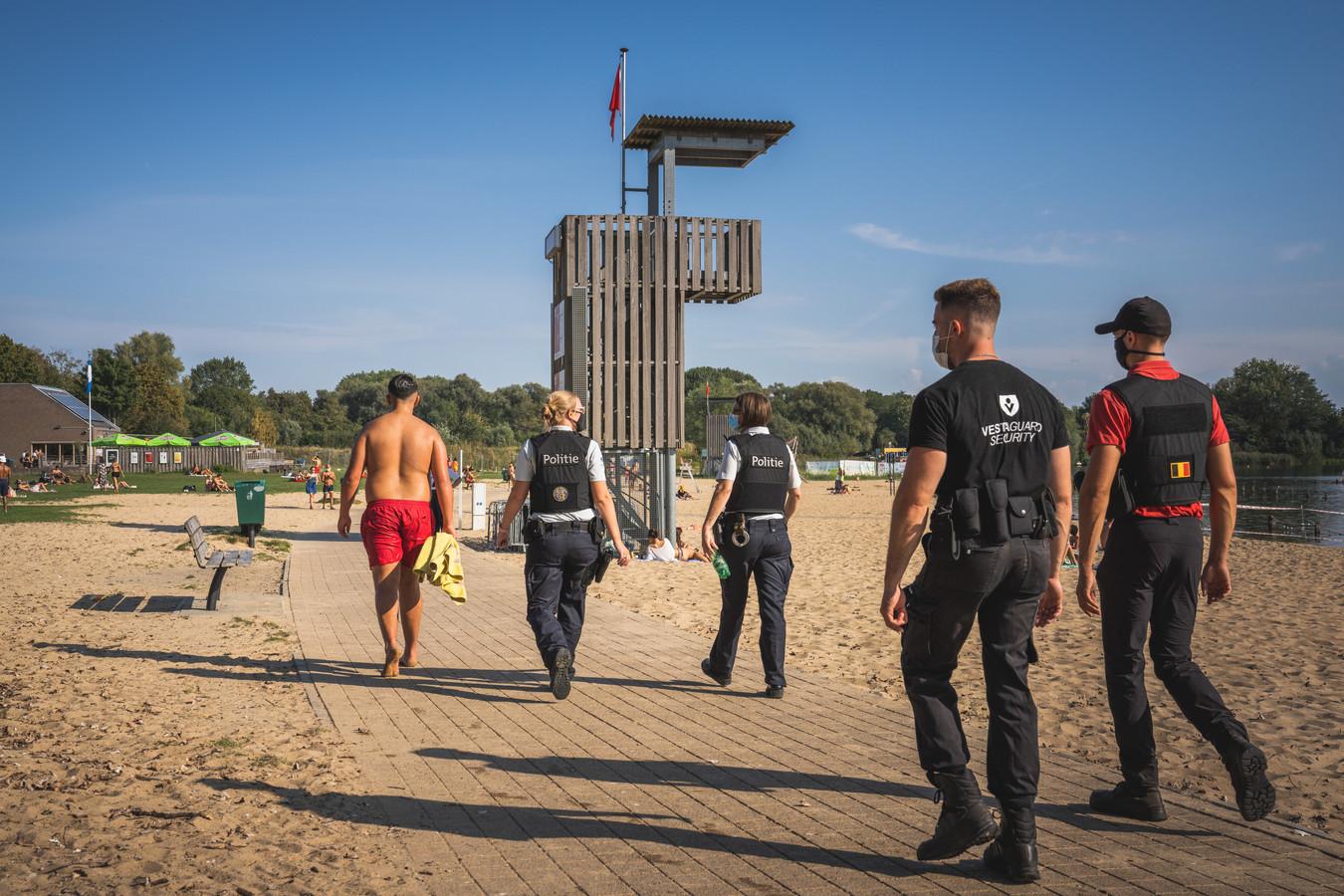 De Gentse politie moest in augustus dertig keer tussenkomen in de Blaarmeersen.