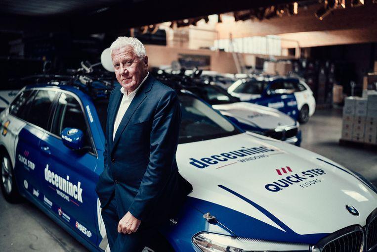 Patrick Lefevere, manager van Deceuninck-QuickStep.