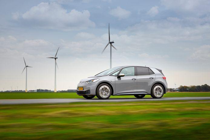 De Volkswagen ID.3 is op dit moment de best verkochte auto van Nederland