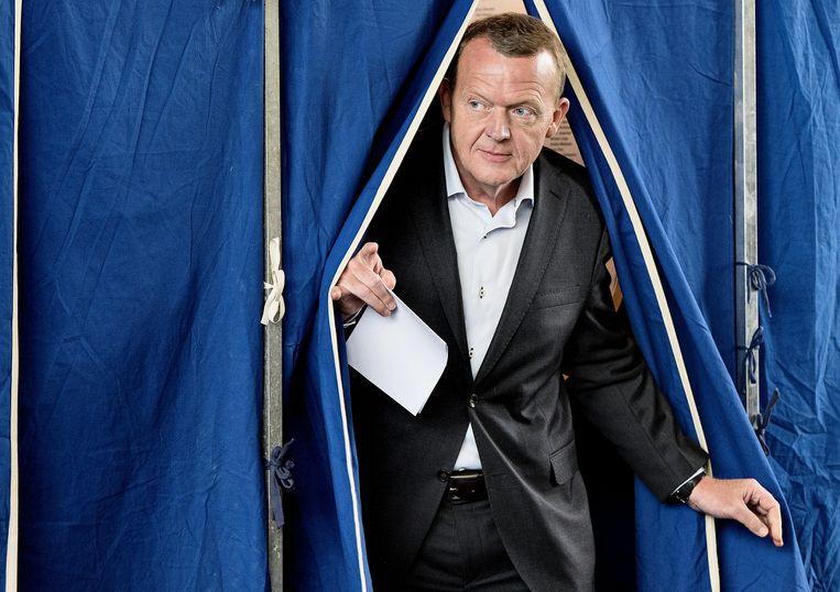 De oppositie heeft zich in de campagne uitgesproken voor Lars Løkke Rasmussen als nieuwe premier.
