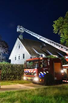 Schoorsteenbrand in Haarens huis op tijd geblust