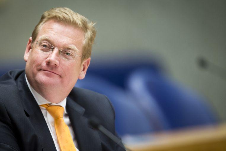 Ard van der Steur, minister van Veiligheid en Justitie. Beeld anp