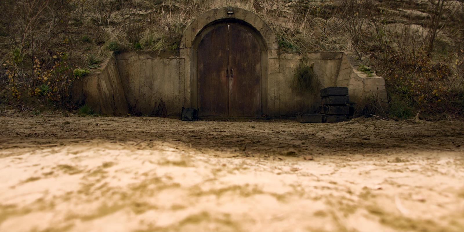 Le bunker dans lequel les passagers sont confinés.