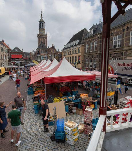 Zaterdagmarkt Kampen na 226 jaar mogelijk toch definitief naar Nieuwe Markt
