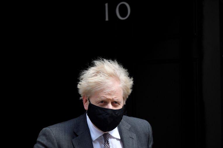 Britse premier Boris Johnson Beeld REUTERS