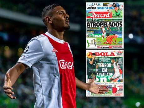 Portugese media zien oppermachtig Ajax: 'Een van de grootste rampen uit de clubhistorie van Sporting'