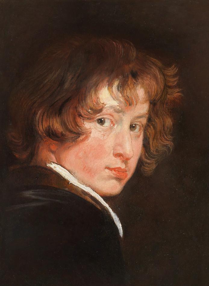 Anthony van Dyck, Zelfportret, ca 1614. Foto Akademie der bildenden Künste, Wenen