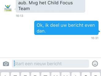 """Child Focus: """"Verwijder Facebook-bericht van vermiste jongen"""""""